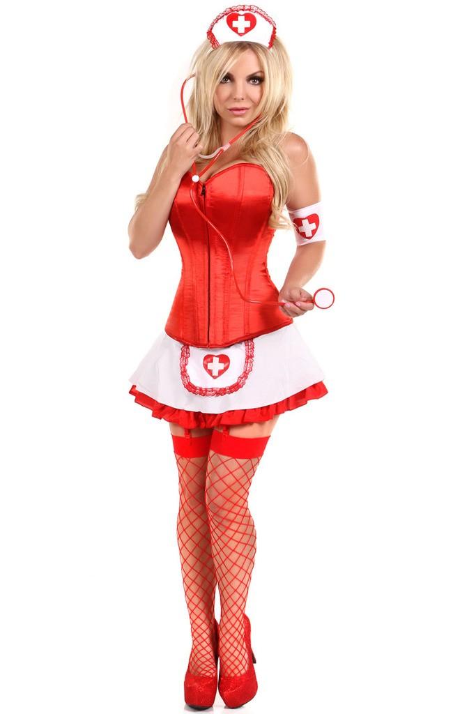 Spleise Korsett Sykepleier Kostyme