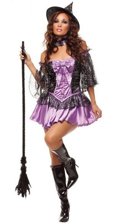 Halloween Devious Heks Kostyme