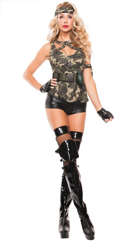 Militær Spesielle Krefter Kostyme