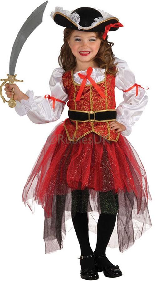 3ee7c609 Jente Prinsesse Sjø Pirat Kostyme Barn