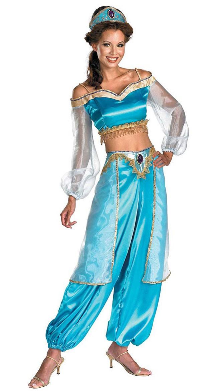 Aladdin Prinsesse Jasmine Sassy Prestige Kostyme