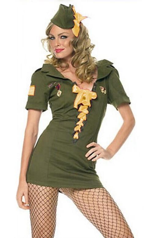 Kadett Army Kostyme Gul
