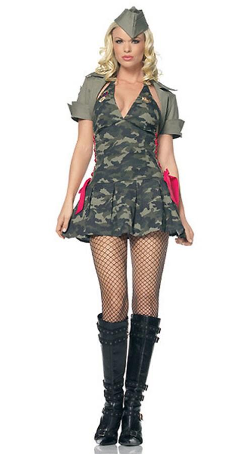 Kamuflere Militær Army Kostyme