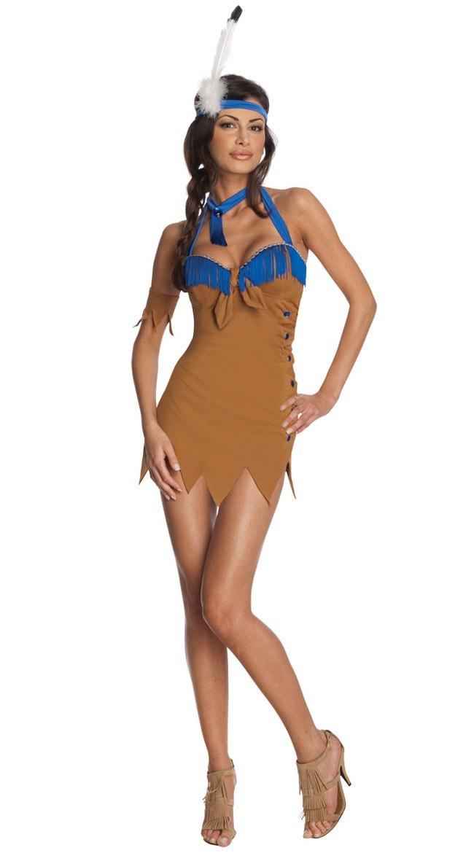 Sexy Indianer Kostyme Halloween Kostymer