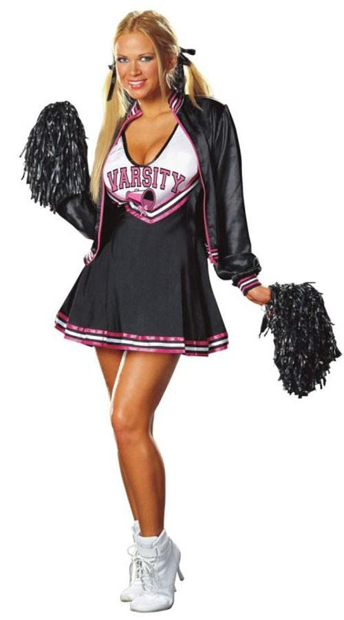 Varsity Deluxe Sexy Cheerleader Kostyme