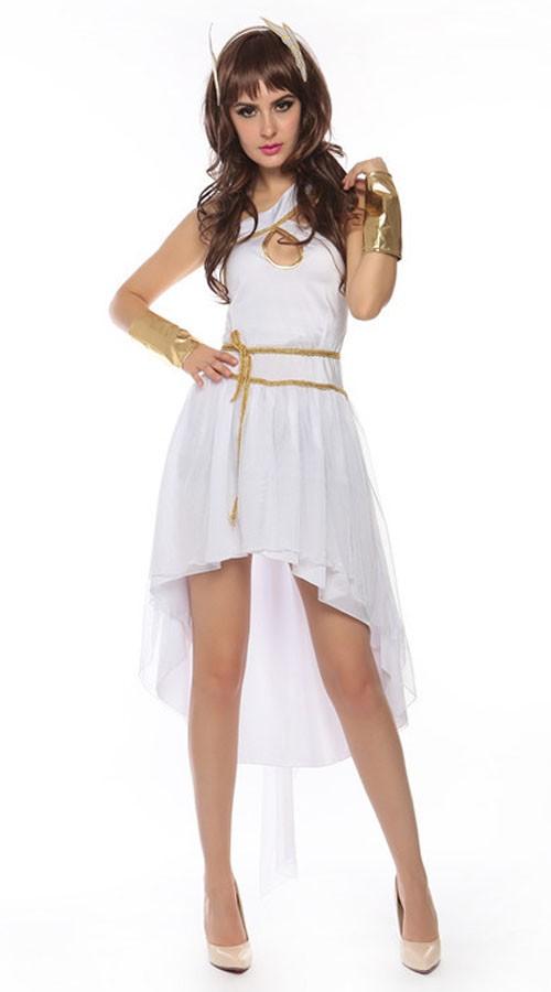 Sexy Gresk Gudinne Hermes Kostyme