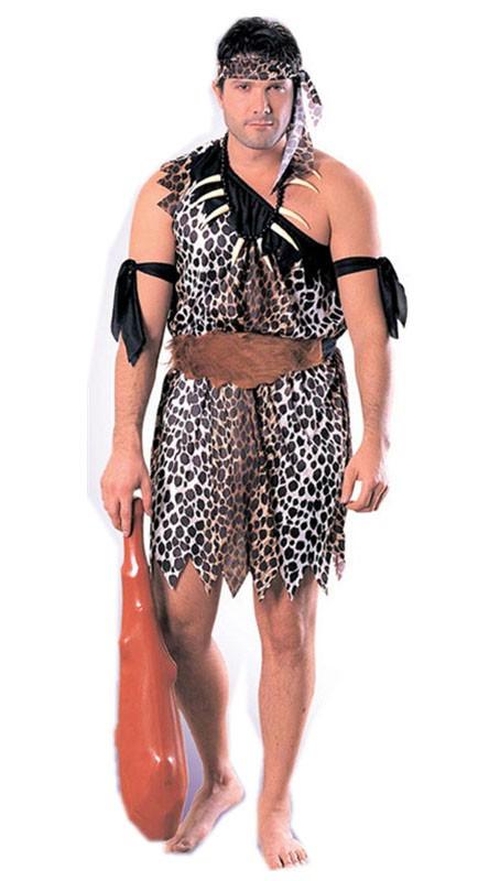 Halloween Huleboer Indianer Kostyme Herre