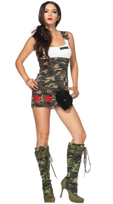 Militær Kostyme Kjærlighets Kamouflering