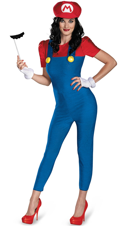 Deluxe Super Mario Kostyme Bodycon