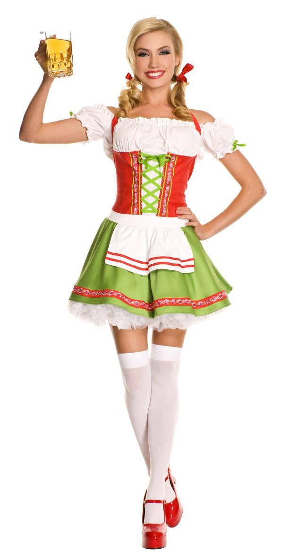 Tyrolerkjole Kjære Oktoberfest Kostyme