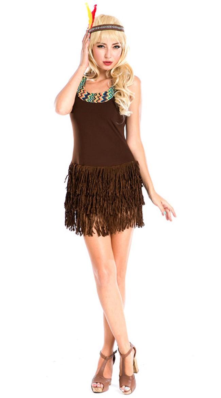 Sexy Pocahontas Indianer Kostyme