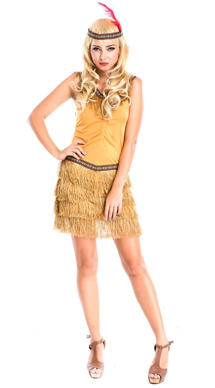 Halloween Indianer Kostyme