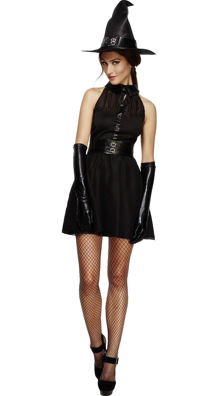 Halloween Betagende Vixen Heks Kostyme
