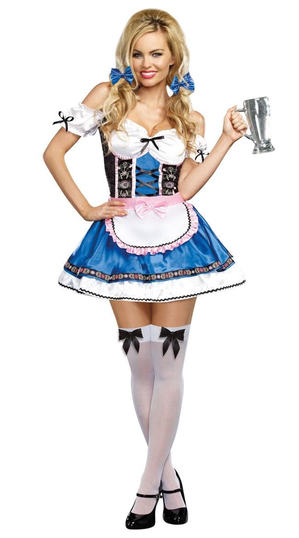 Tysk Skjønnhet Oktoberfest Kostyme