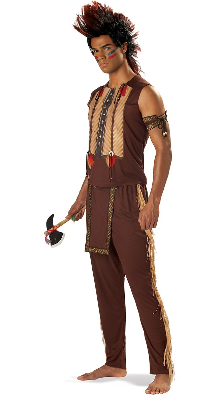 Voksen Edle Halloween Indianer Kostyme