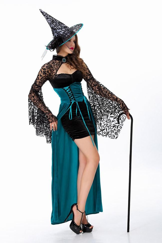 Halloween Sexy Enchantress Heks Kostyme