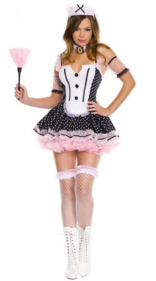 Polka Dot Tuxedo Stuepike Kostyme