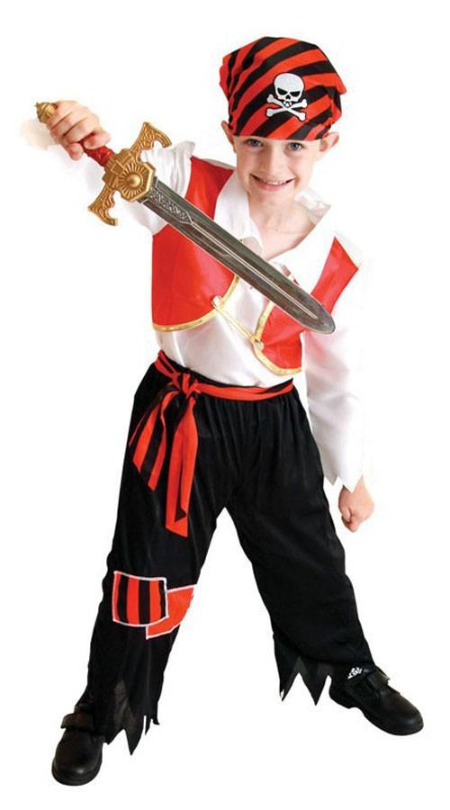 Søte Gutt Piratkostyme Halloween Kostymer Barn ba147d4fd303a