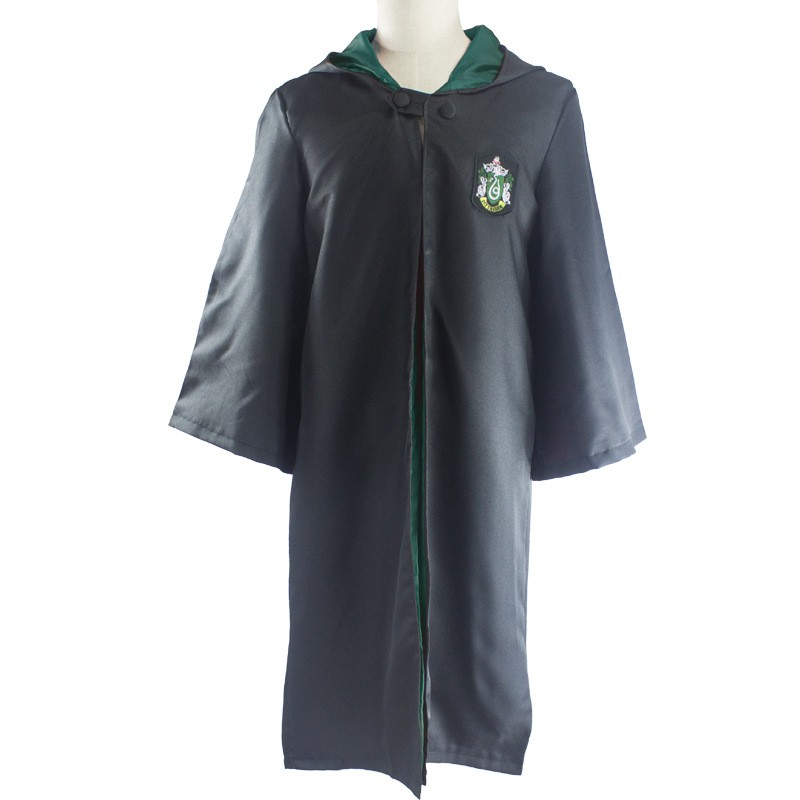 Slytherin Kappe Barn Harry Potter Kostymer