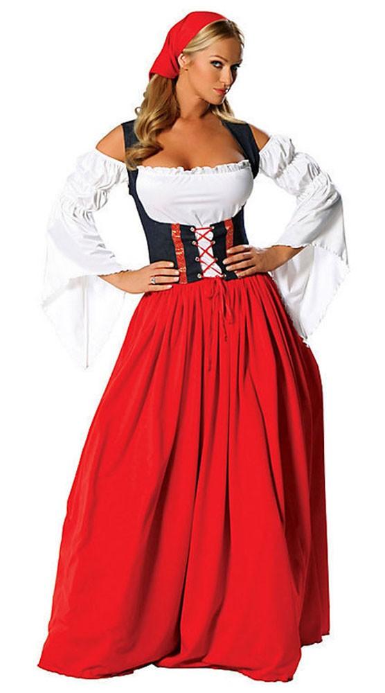 Savner Swiss Kostyme Oktoberfest Kostyme