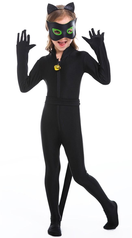Cat Noir Kostyme for Barn