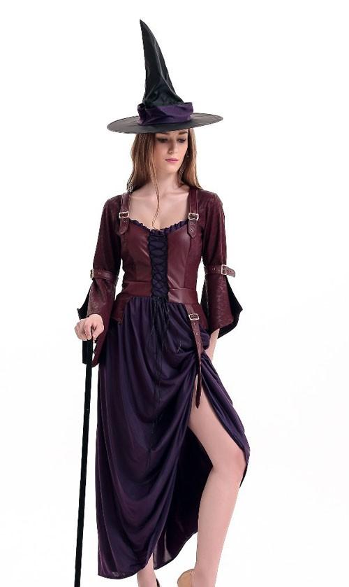 Salem Halloween Heks Kostyme