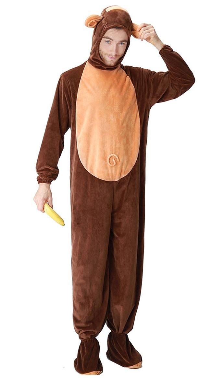 Ape Kostyme Til Menn Halloween Voksne