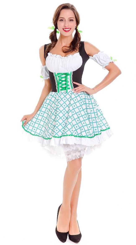 Tyske Bayersk Oktoberfest Kostyme Dame