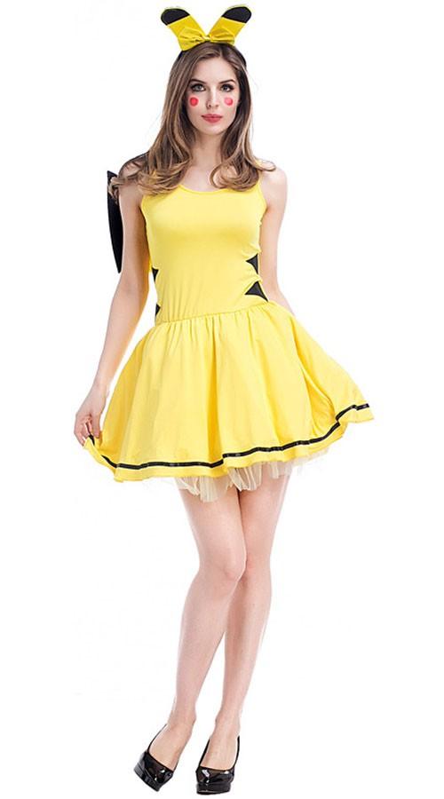 Få Meg Sexy Pikachu Kostyme