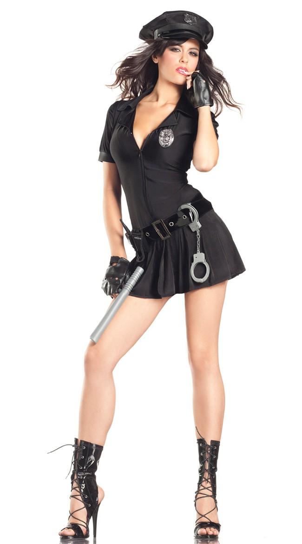 Mrs. Law Politi Kostyme