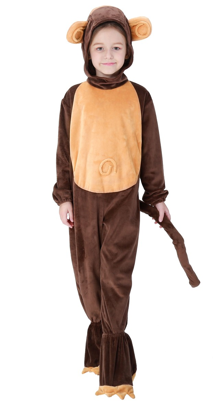Halloween Ape Kostyme Til Barn