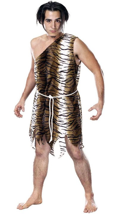 Halloween Jungel Indianer Kostyme Herre
