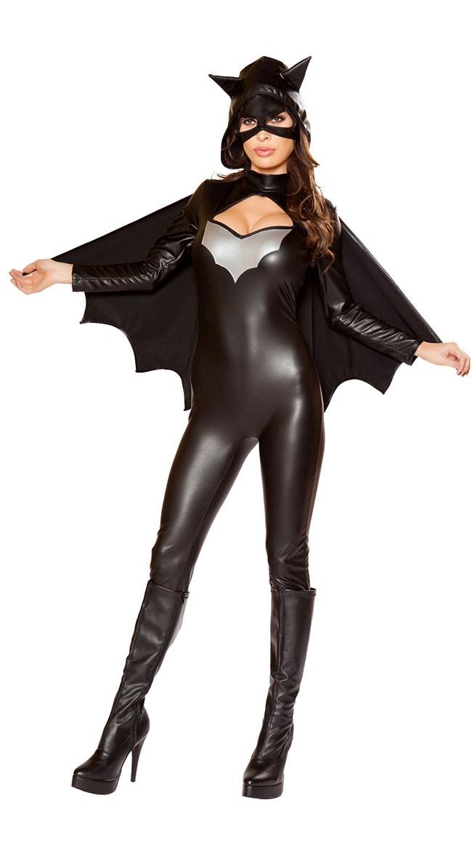 Batgirl Kostyme Heroine Av Natten