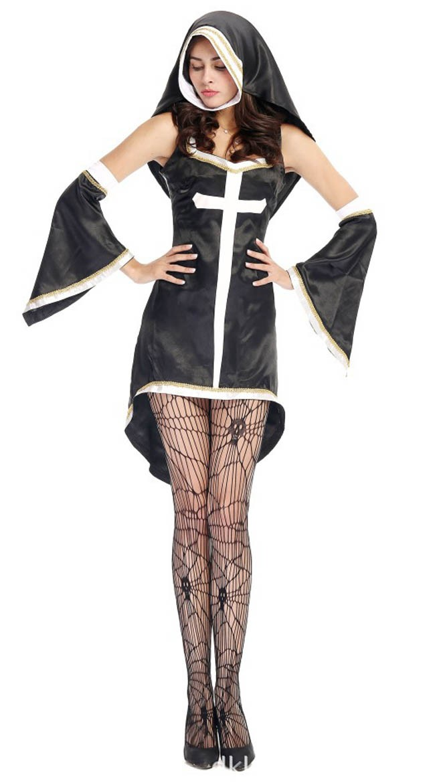 Synd Varm Nonne Kostyme Dame