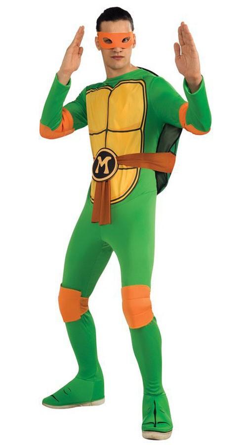 Klassisk Ninja Turtles Michelangelo Kostyme
