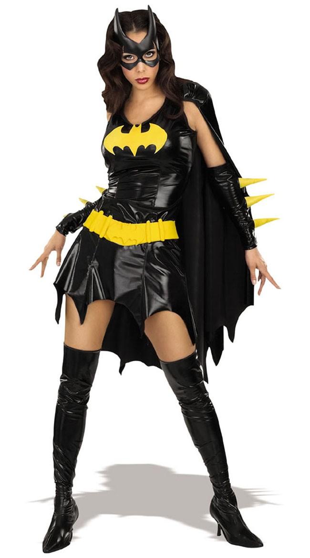 DC Tegneserier Batgirl Kostyme For Voksne