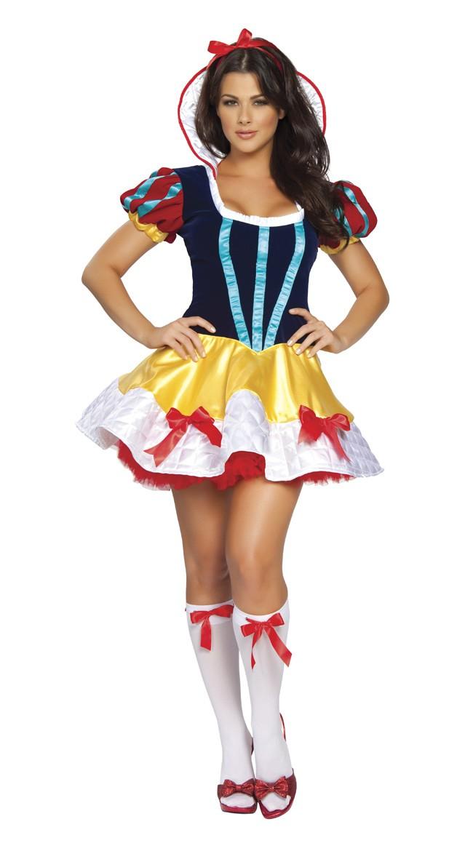 Fantasi Halloween Snøhvit Kostyme