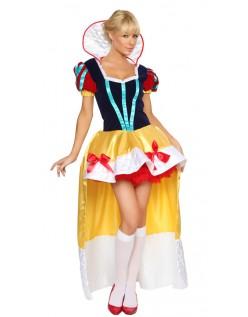 Halloween Deluxe Snøhvit Kostyme
