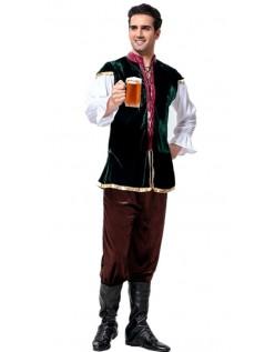 Tysk Bayersk Oktoberfest Lederhosen Herre