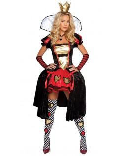 Wonderland Deluxe Ugudelig Dronning Kostyme