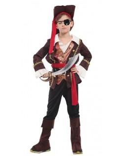 Halloween Barn Deluxe Pirat Kostyme