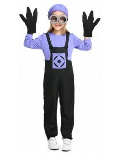 Lilla Ond Minions Kostyme Barn