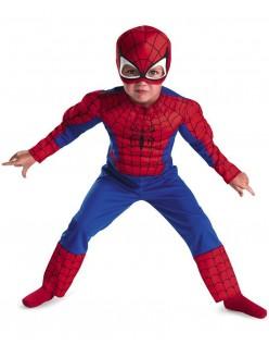 DC Tegneserie Spiderman Muskel Kostyme Barn