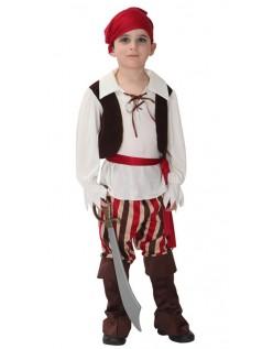 Klassisk Barn Pirat Kostyme til Halloween