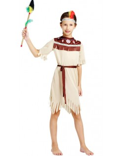 Halloween Indianer Kostyme For Jente