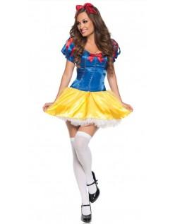 Nydelig Snøhvit Kostyme til Halloween