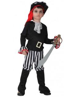 Stripe Pirat Kostyme Halloween Barn