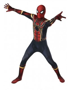 Avengers 3 Homecoming Barn Spiderman Kostyme