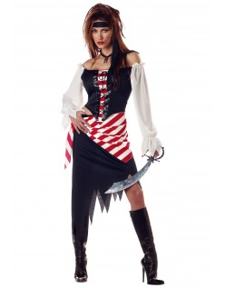 Ruby Pirat Kostyme Voksen Sjørøver Kostyme