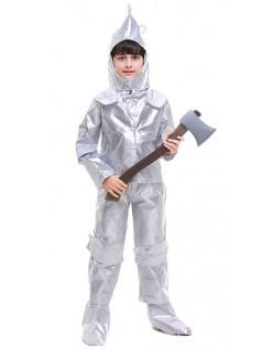 Tin Man Kostyme Trollmannen fra OZ Kostymer til Barn